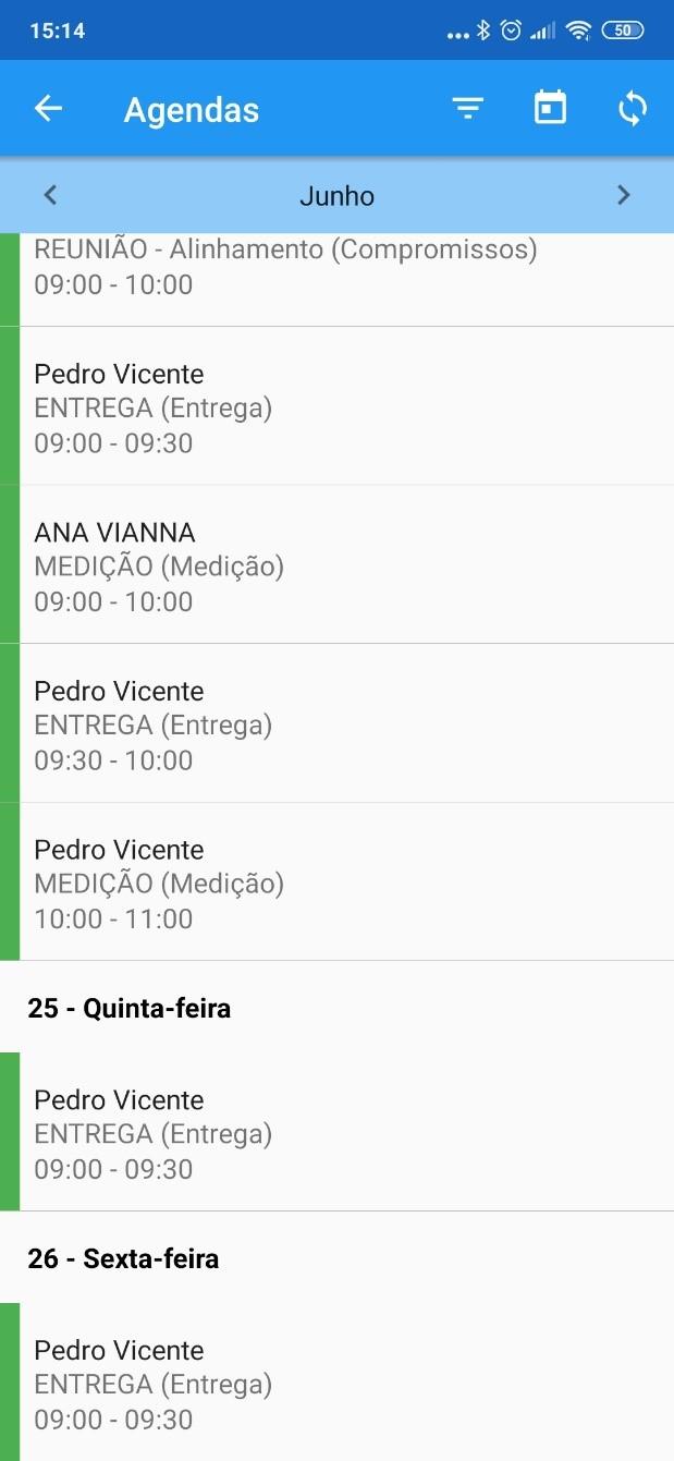 menu-agenda Acompanhe seus negócios em qualquer lugar com o aplicativo FoccoLOJAS